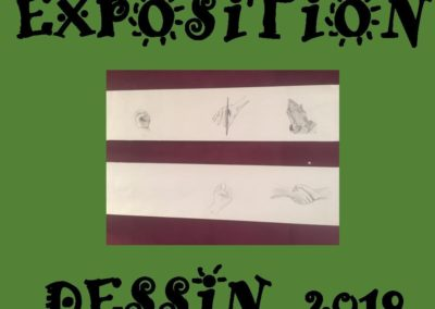 EXPOSITION DESSIN 2019-2020