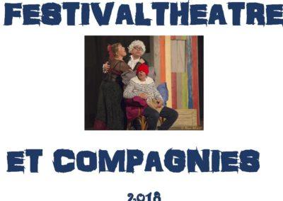 FESTIVAL THEATRE ET COMPAGNIES 2018